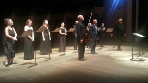 Solistes XXI, Rachid Safir, Christophe Desjardins e Gianvincenzo Cresta.  Teatro Gesualdo, Avellino 15 Settembre 2013