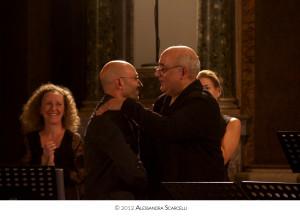 Gianvincenzo Cresta e Rachid Safir.  Festival Anima Mea, Molfetta 2012